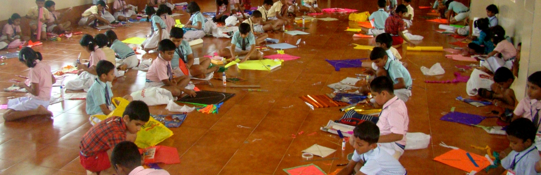 Kite making competition